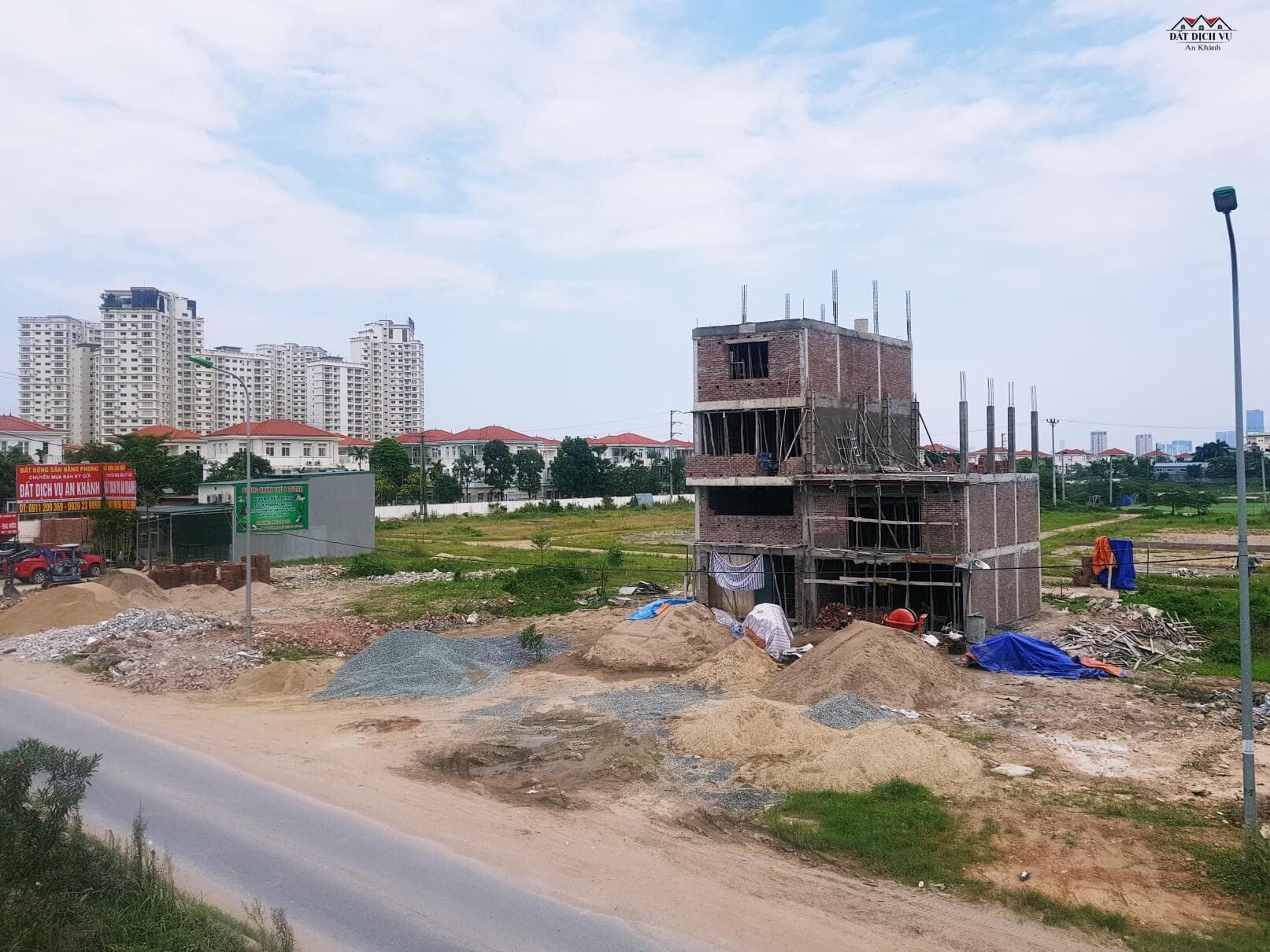 Hình ảnh đất dịch vụ thôn Phú Vinh