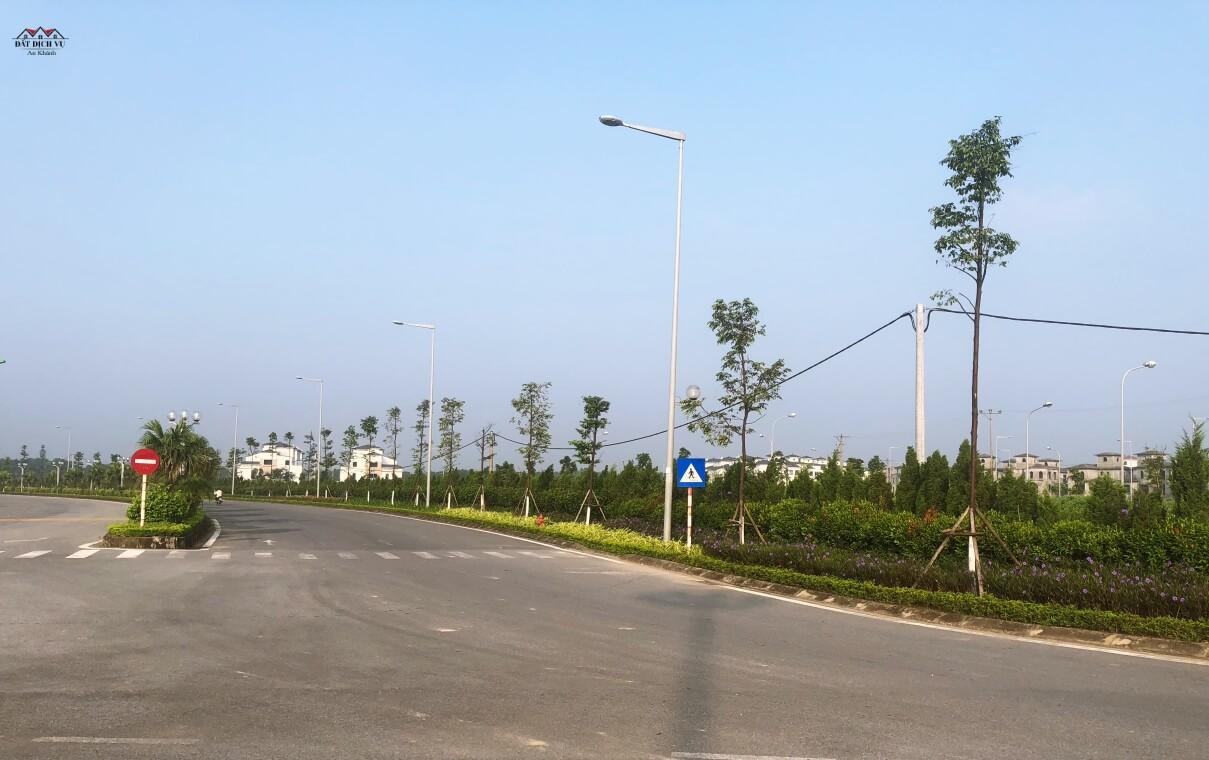 Đường xá giao thông khu đất dịch vụ An Khánh