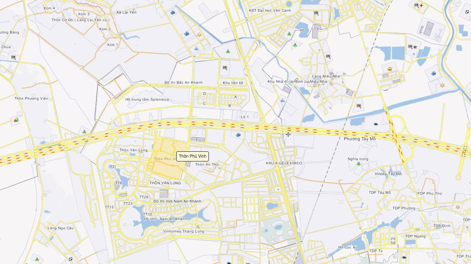 Vị trí của đất dịch vụ Phú Vinh