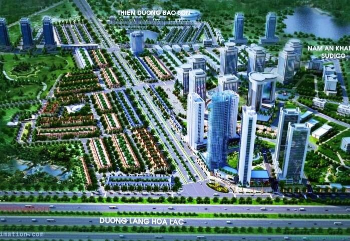 Khu đô thị Geleximco Lê Trọng Tấn