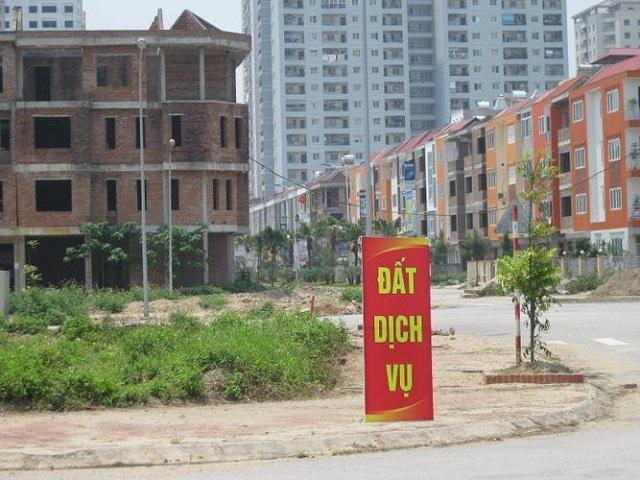 Đất dịch vụ An Khánh có nhiều diện tích khác nhau