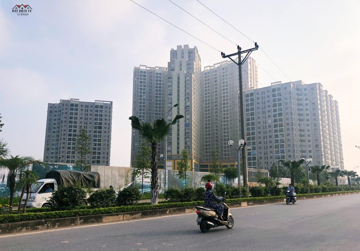 Khu dân cư đã hiện hữu The Golden An Khánh