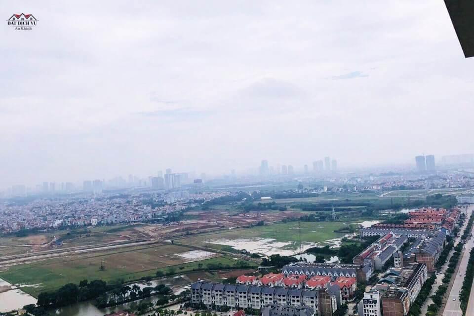 Toàn cảnh dự án Vincity Tây Mỗ nhìn từ trên cao