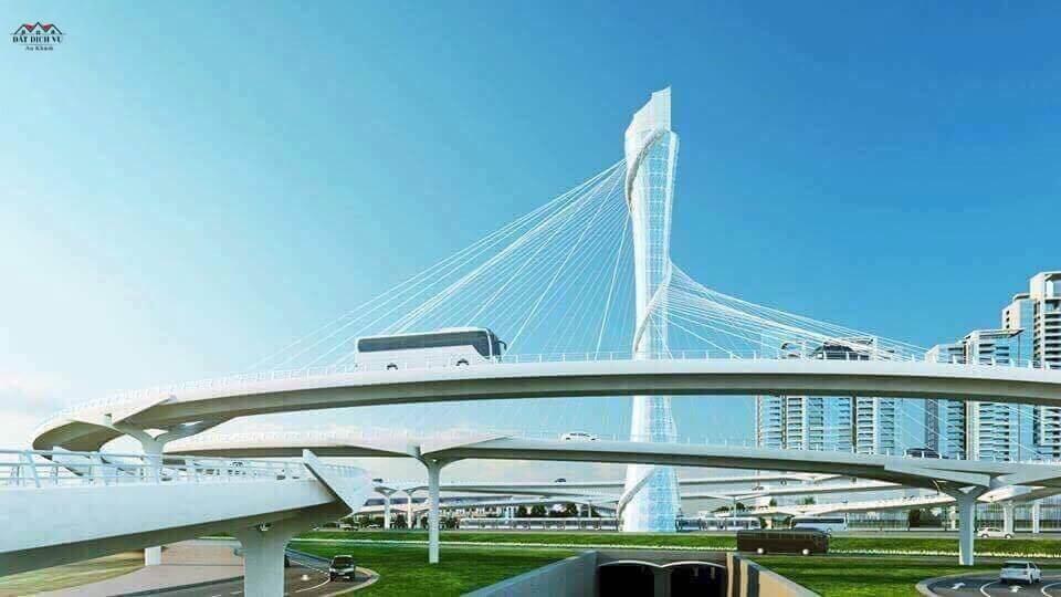 Cầu vượt Đại lộ thăng Long và trục đường Lê Trọng Tấn
